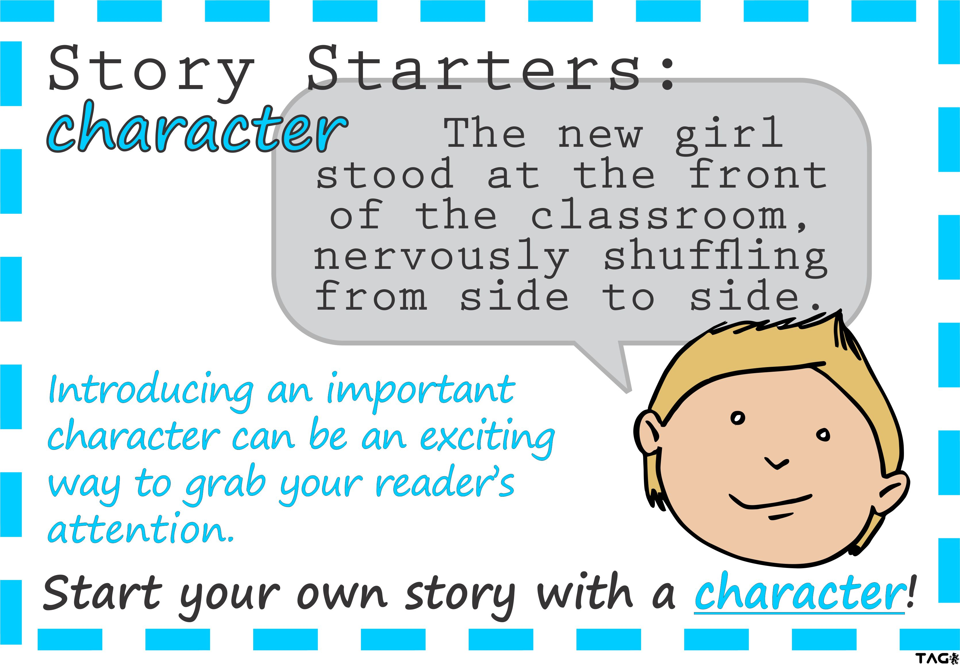 Primary - Story Starters Posters | EdChat®