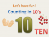 Counting in 10's
