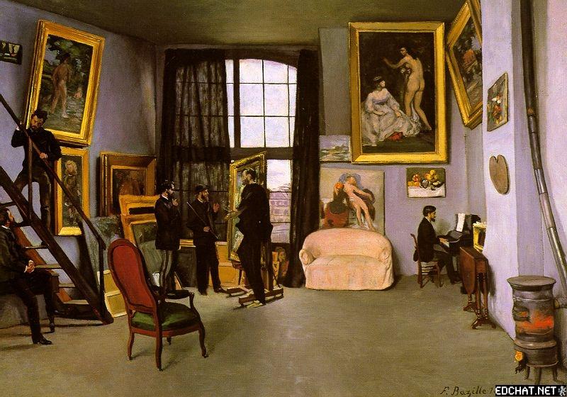 The Artists Studio Rue de la Condamine
