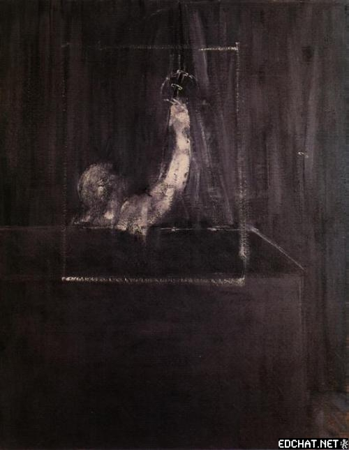 Man at Curtain