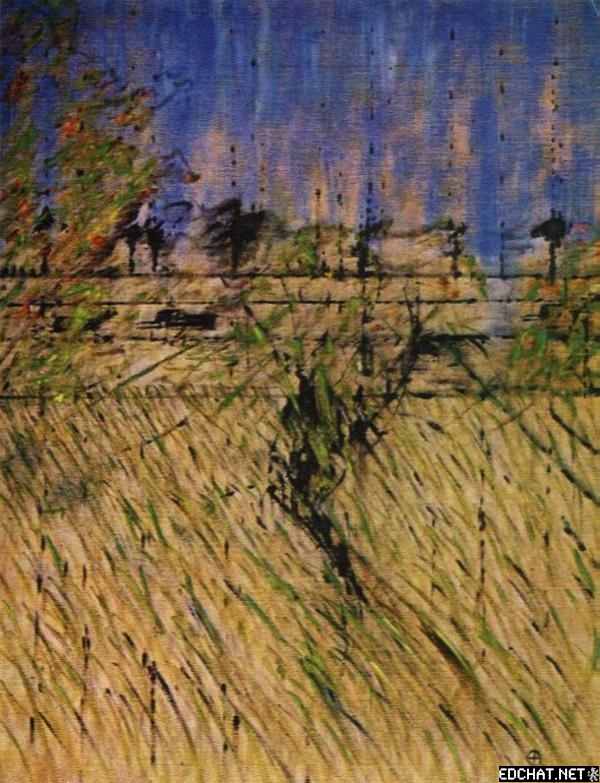 Landscape after Van Gogh