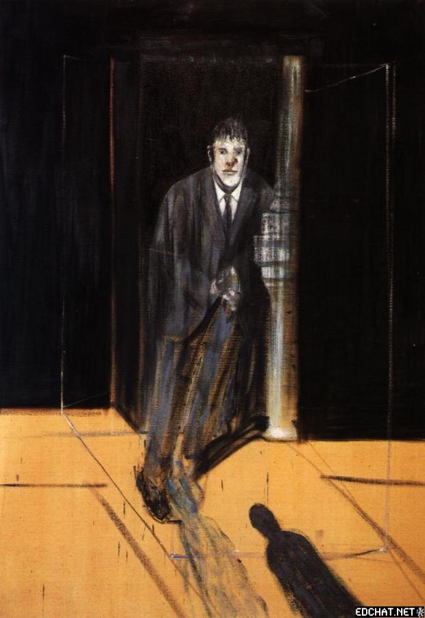 Portrait of Lucian Freud