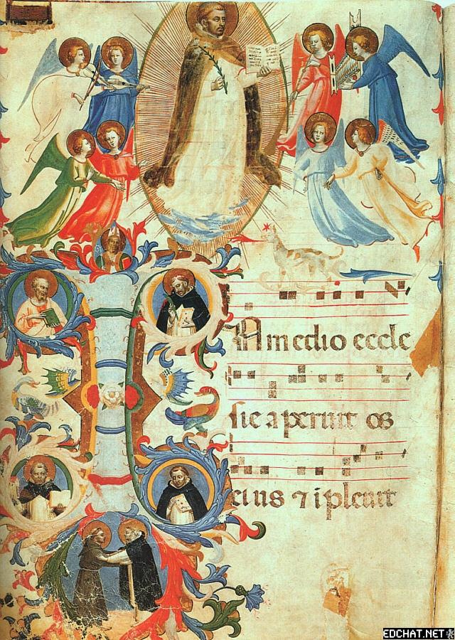 Glorification of St. Dominic