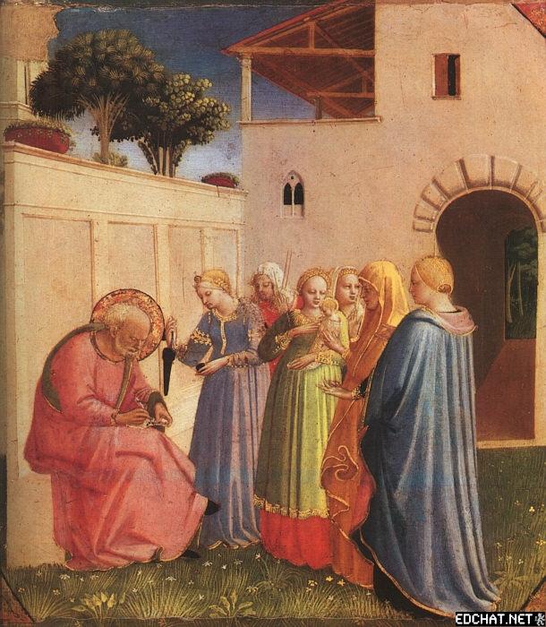 The Naming of St. John the Baptist