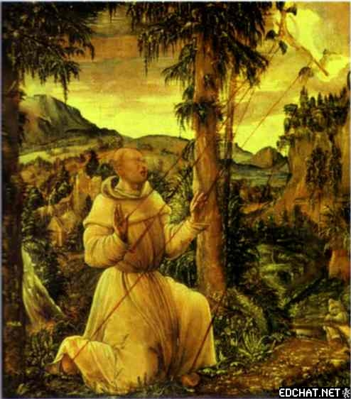 Stigmatization of St. Francis