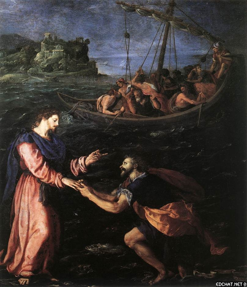 St. Peter Walking On The Water