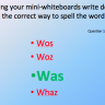 Right and Wrong - Improve spelling for kids