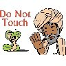 Classroom Signs (Do Not Touch)