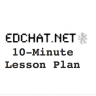 Blank lesson plan template - 10 minute planning