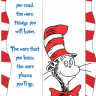 Dr Seuss Bookmark