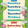 Days of The Week | Early Years & Primary School Posters | Gloss Paper