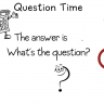 What's The Question Poster - Classroom Display