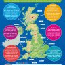 UK Physical Landscapes | Geography Posters | Gloss Paper