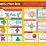 Nets and Surface Area | Maths Charts | Gloss Paper