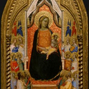 Daddi Madonna and Child with Saints and Angels
