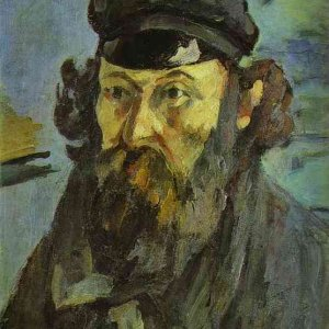 Self-Portrait with a Casquette