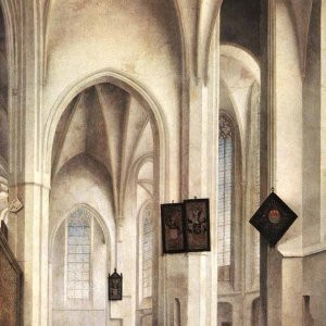 Interior Of The St. Jacob Church In Utrech